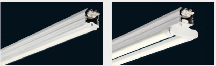 LED skinne system